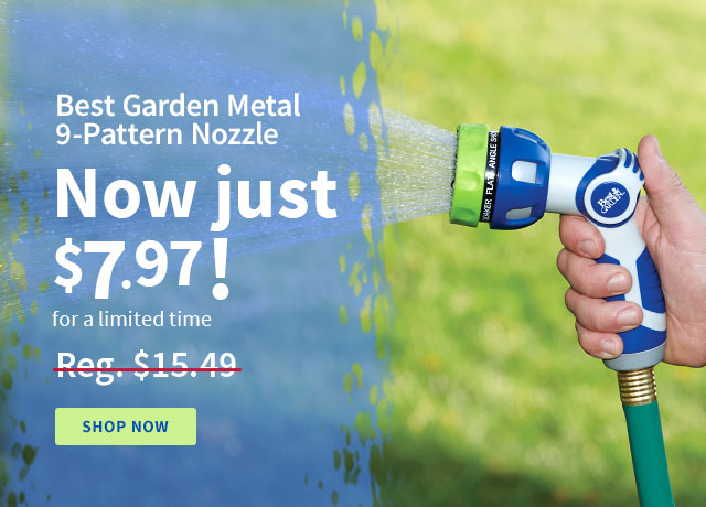 Best Garden Multi-Pattern Nozzle