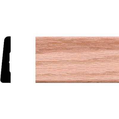 House of Fara 7/16 In. W. x 2-1/4 In. H. x 7 Ft. L. Natural Solid Red Oak Modern Wood Casing