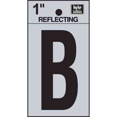 Hy-Ko Vinyl 1 In. Reflective Adhesive Letter, B