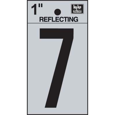 Hy-Ko Vinyl 1 In. Reflective Adhesive Number Seven