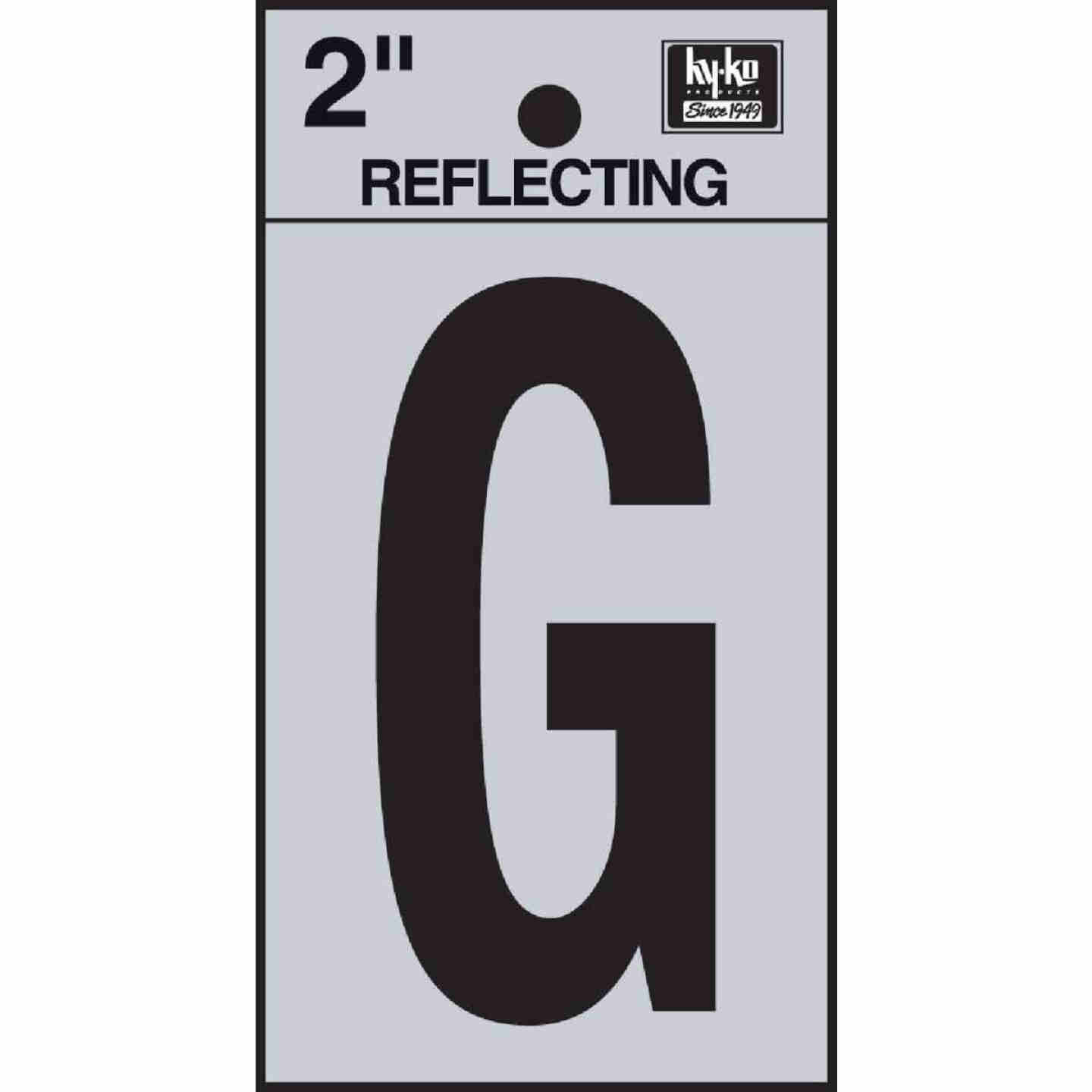 Hy-Ko Vinyl 2 In. Reflective Adhesive Letter, G Image 1