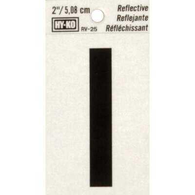Hy-Ko Vinyl 2 In. Reflective Adhesive Letter, I