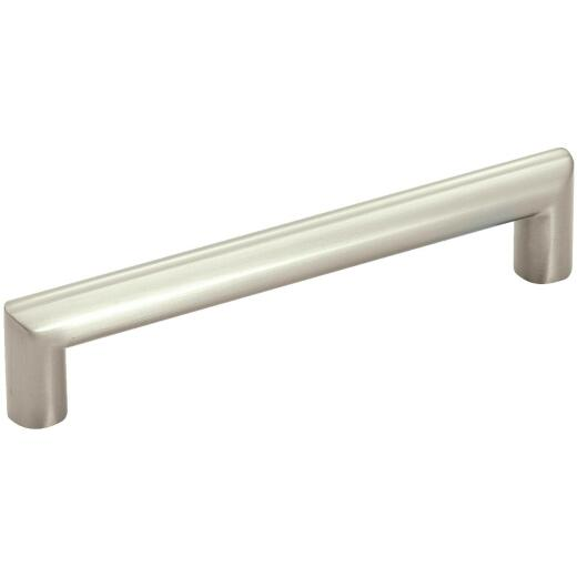 Amerock Essential'z Satin Nickel 1/2In. 5 In. Cabinet Pull