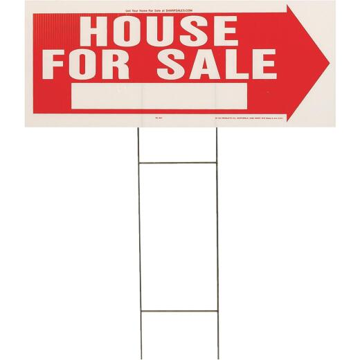 Hy-Ko Corrugated Plastic Sign, House For Sale