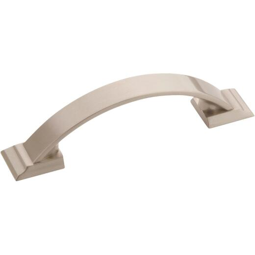 Amerock Candler 3 In. Satin Nickel Center-to-Center Pull