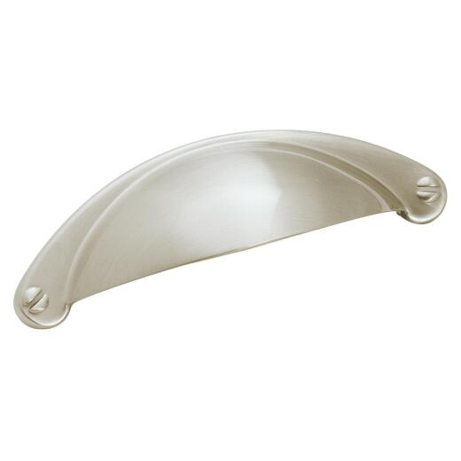 Amerock Essential'z 2-1/2 In. Nickel 2-1/2 In. Cabinet Pull