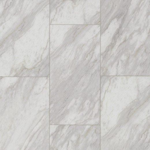 Floorte Pro Paragon Tile Plus Oyster 12 In. x 24 In. Vinyl Floor Tile (15.83 Sq. Ft./Box)