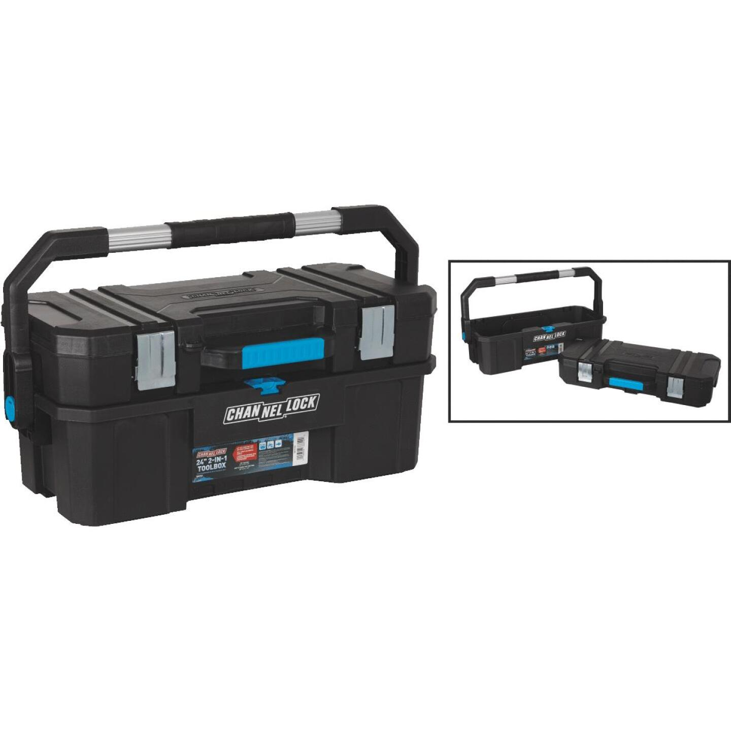 Channellock 24 In. 2-in-1 Toolbox Image 1