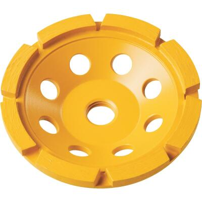 DeWalt 4 In. Segmented Single Row Masonry Cup Wheel