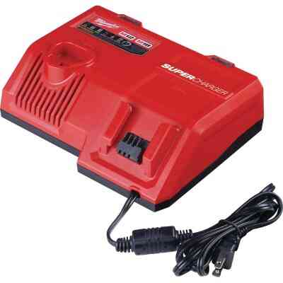 Milwaukee M18/M12 18 Volt and 12 Volt Lithium-Ion Super Battery Charger