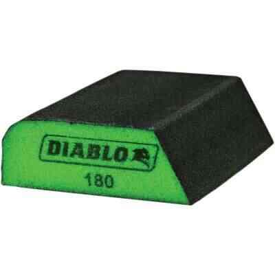 Diablo 2-1/2 In. x 4 In. x 1 In. 180 Grit (Ultra Fine) Dual Edge Sanding Sponge