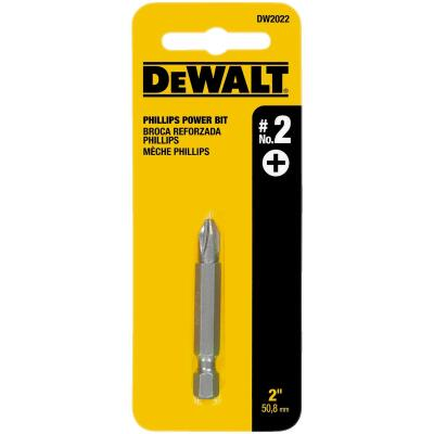 DeWalt Phillips #2 2 In. Power Screwdriver Bit