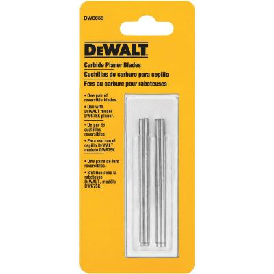 DeWalt 3-1/8 In. Carbide Planer Blade (2-Pack)
