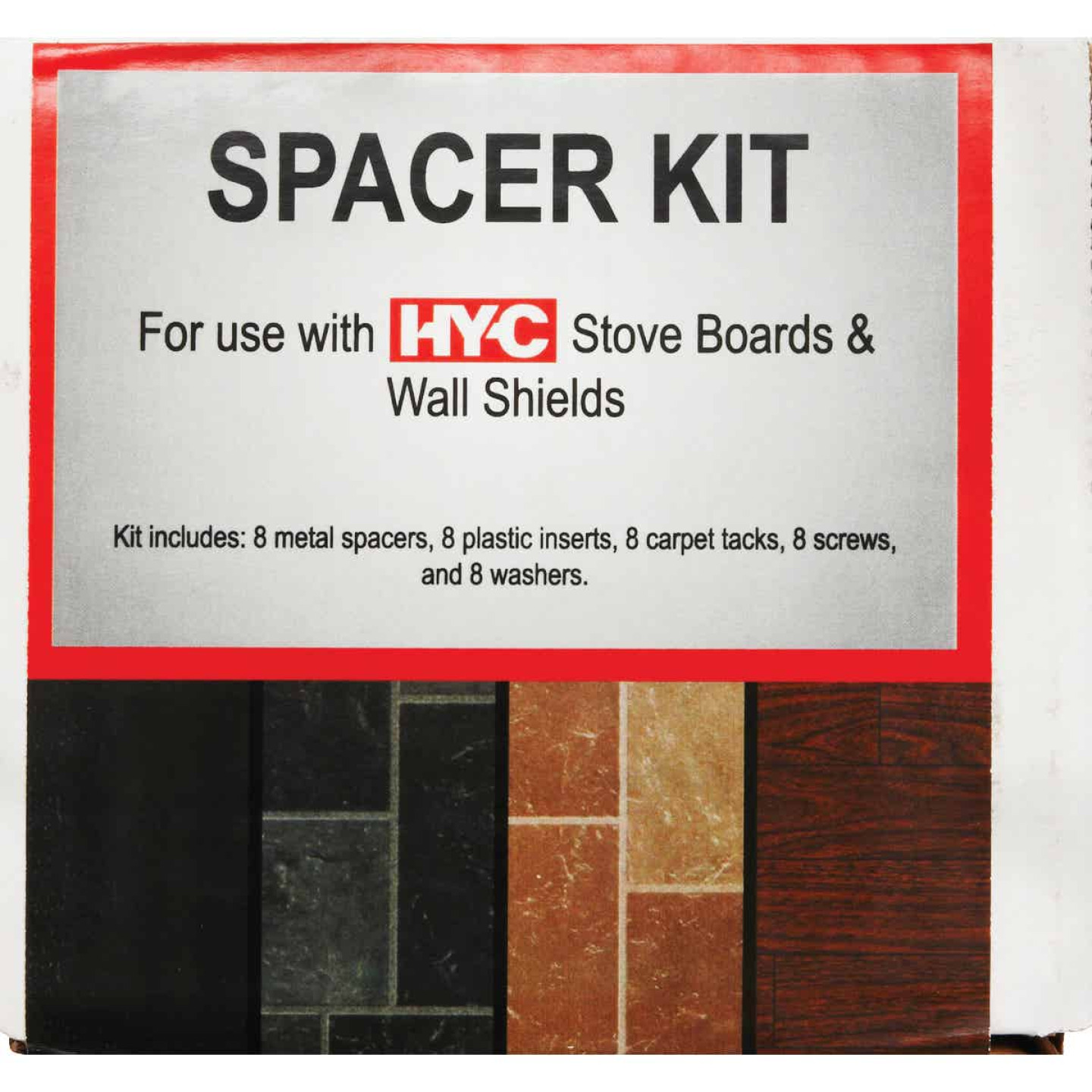 HY-C Wall Spacer Kit Image 4