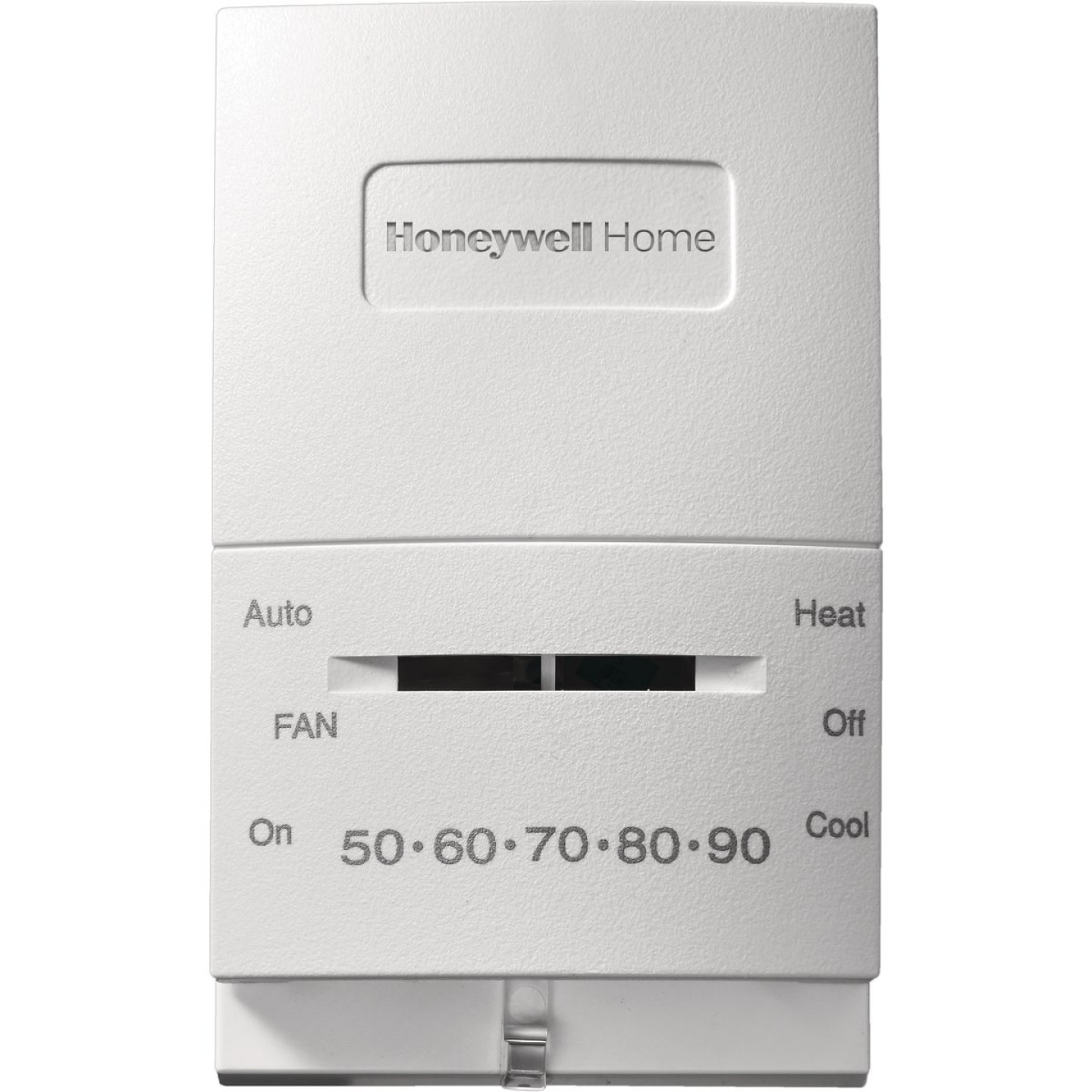 Honeywell 55 F to 85 F Off-White Mechanical Thermostat Image 1