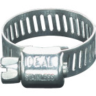 Ideal 5/16 In. - 7/8 In. Stainless Steel Micro-Gear Hose Clamp w/Zinc-Plated Carbon Steel Screw Image 1