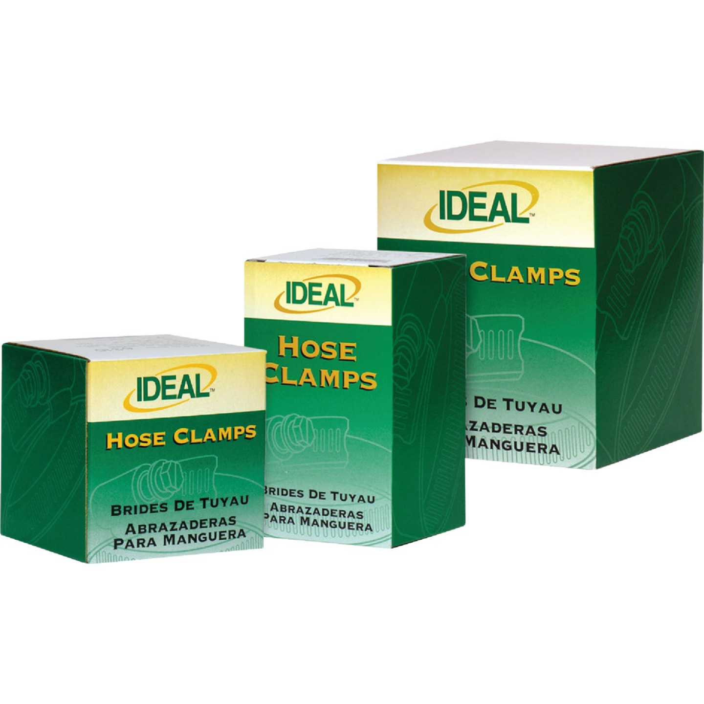 Ideal 2-1/2 In. - 4-1/2 In. 67 All Stainless Steel Hose Clamp Image 2