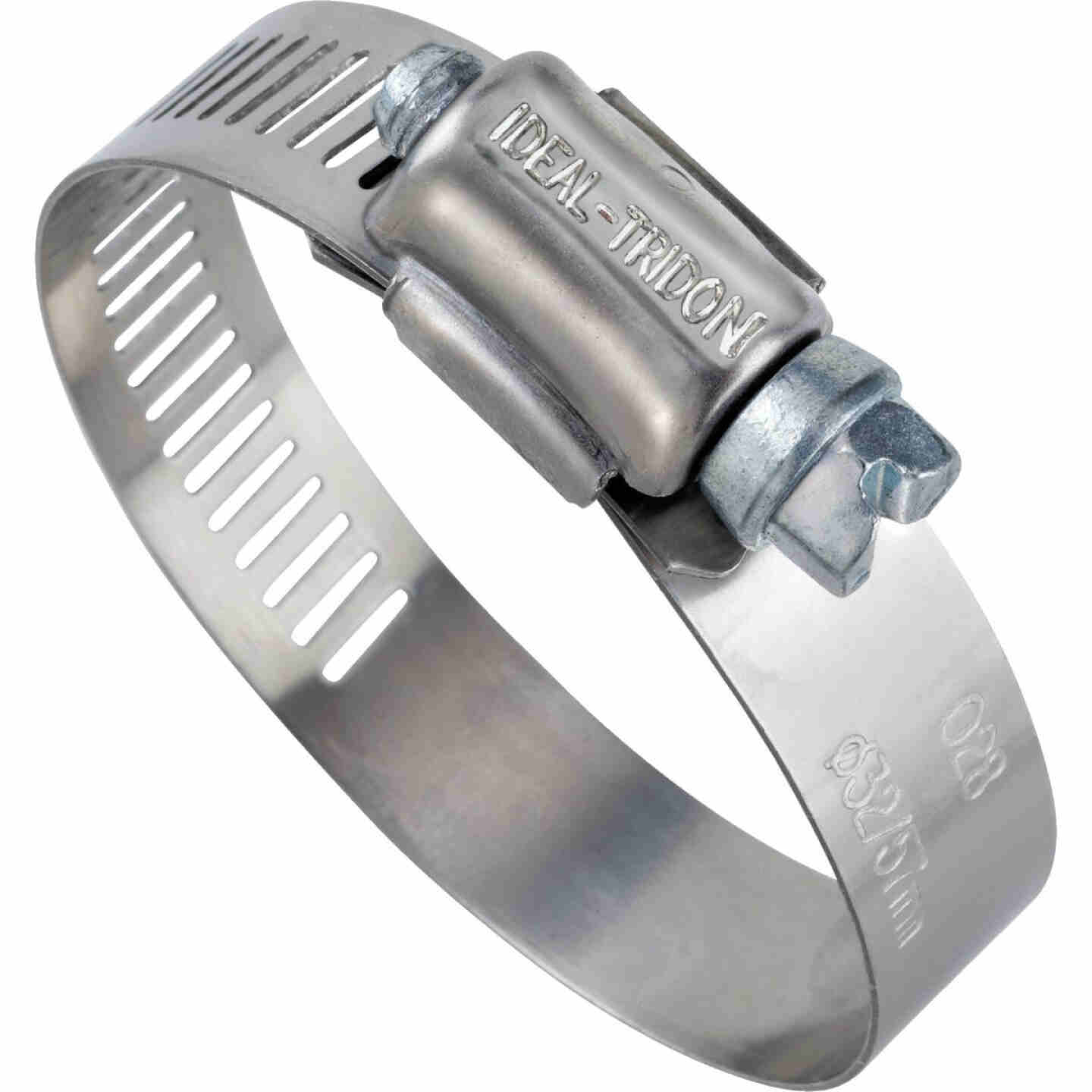 Ideal 3/4 In. - 1-3/4 In. 57 Stainless Steel Hose Clamp with Zinc-Plated Carbon Steel Screw Image 1