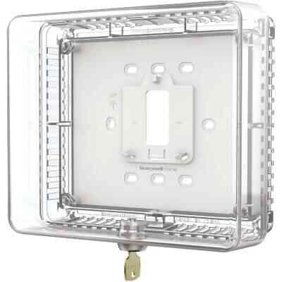 Honeywell Home Clear 7-1/2 In. 6-1/2 In. Thermostat Guard