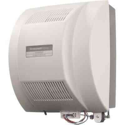 Honeywell Home Whole House Fan Powered Furnace Humidifier
