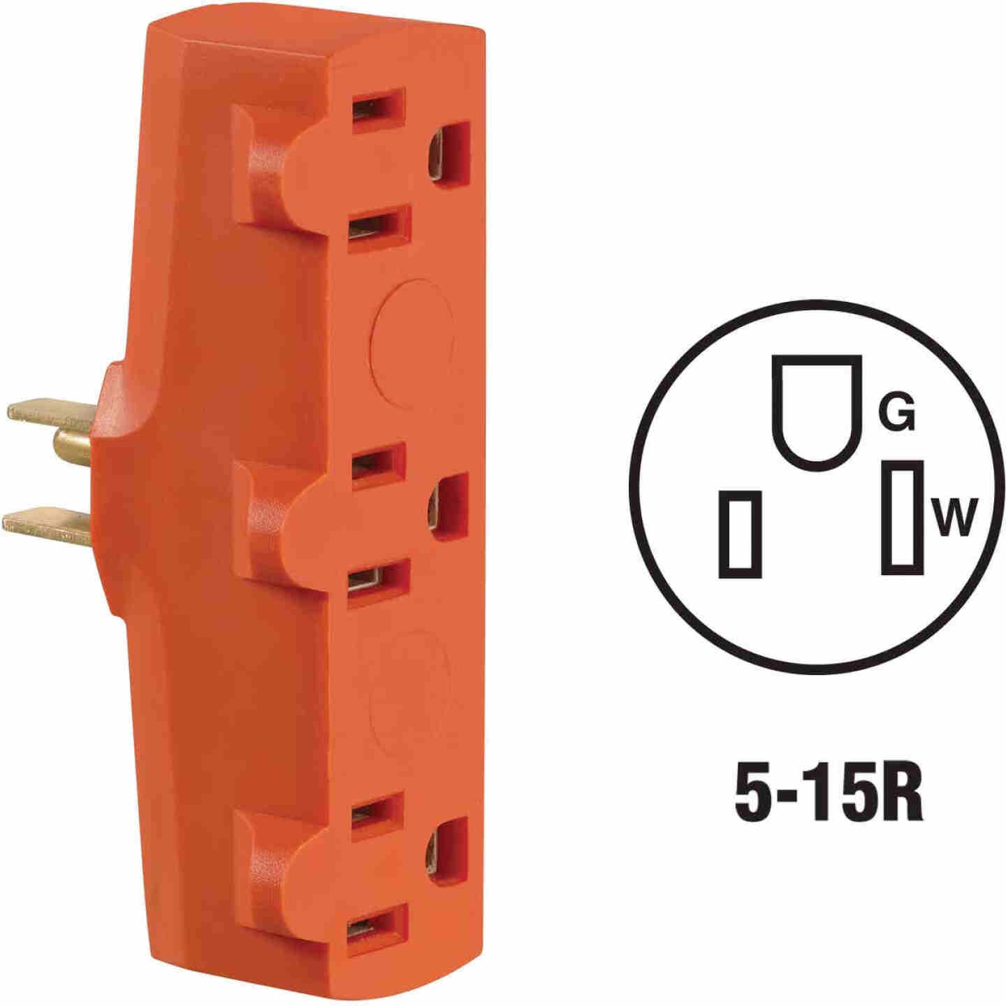 Do it Orange 15A 3-Outlet Tap Image 1