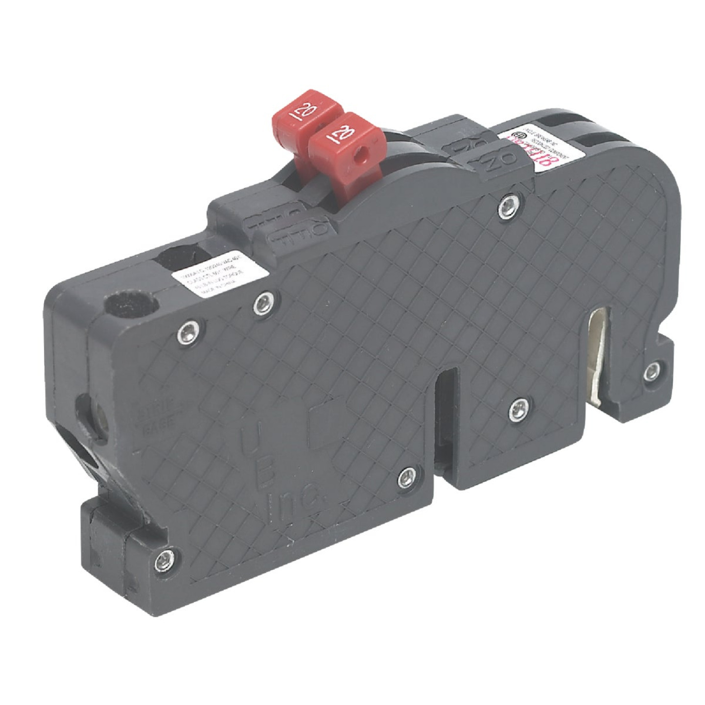 Connecticut Electric 15A/15A Twin Single-Pole Standard Trip Packaged Replacement Circuit Breaker For Zinsco Image 1