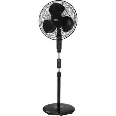 Best Comfort 16 In. 3-Speed 42 In. to 50 In. H. Oscillating Pedestal Fan with Remote Control