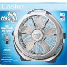 Lasko Wind Machine 20 In. 3-Speed Pearl Floor Fan Image 2
