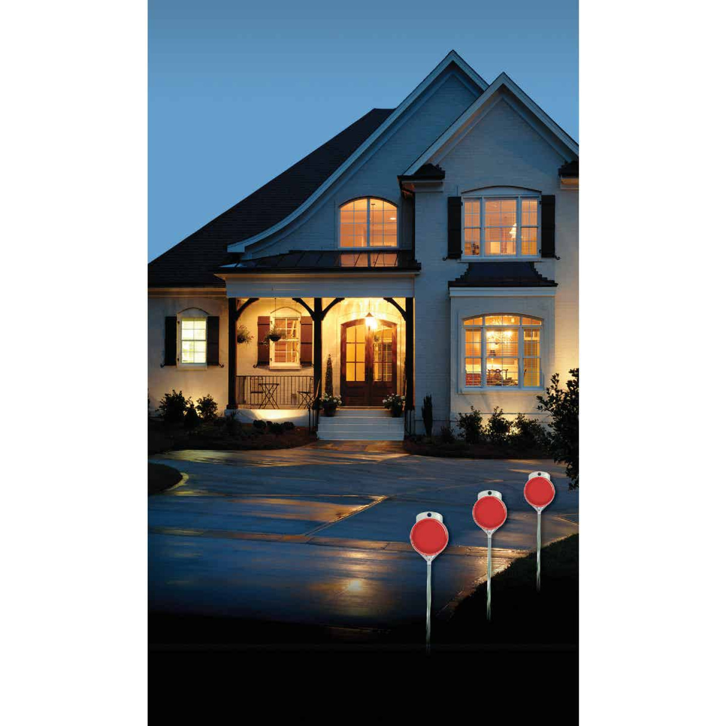 Hy-Ko 48 In. Red Aluminum Driveway Marker Image 2