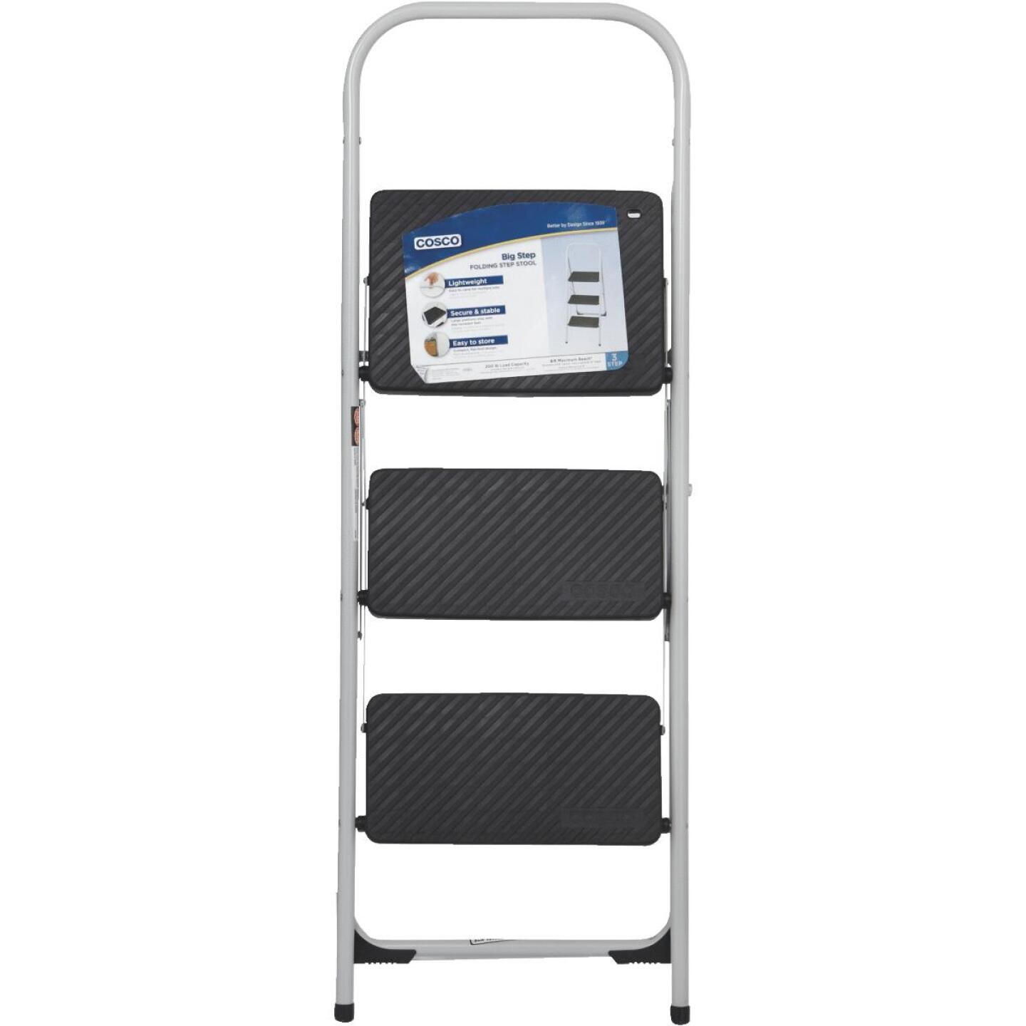 COSCO Big Step 3-Step Folding Step Stool Image 4
