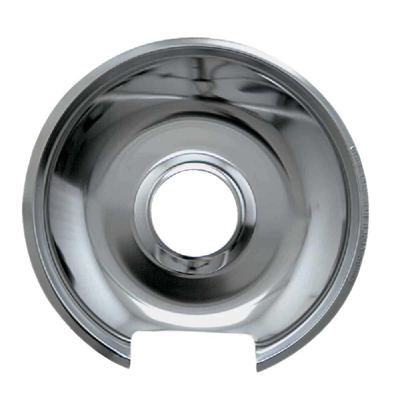"Range Kleen Electric 6"" Style E Round Chrome Drip Pan Image 1"