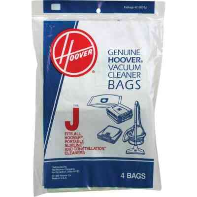 Hoover Type J Standard Vacuum Bag (4-Pack)