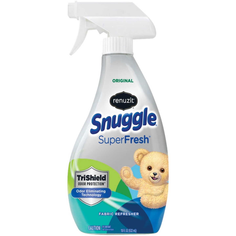 Renuzit Snuggle SuperFresh 18 Oz. Original Fabric Refresher Spray TriShield Odor Protection Image 1