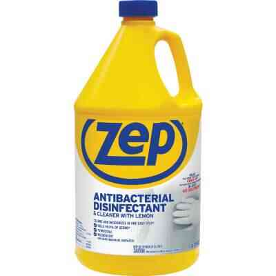 Zep Commercial 128 Oz. Lemon Antibacterial Disinfectant All-Purpose Cleaner