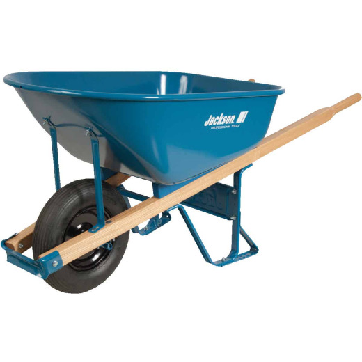 Jackson 6 Cu. Ft. Steel Wheelbarrow