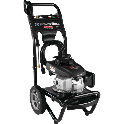 PowerBoss 2800 psi 2.3 GPM Cold Water Gas Pressure Washer