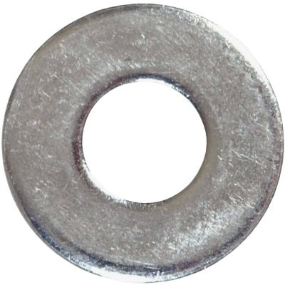Hillman 1/4 In. USS Steel Zinc Plated Flat USS Washer (30.,5 Lb.)