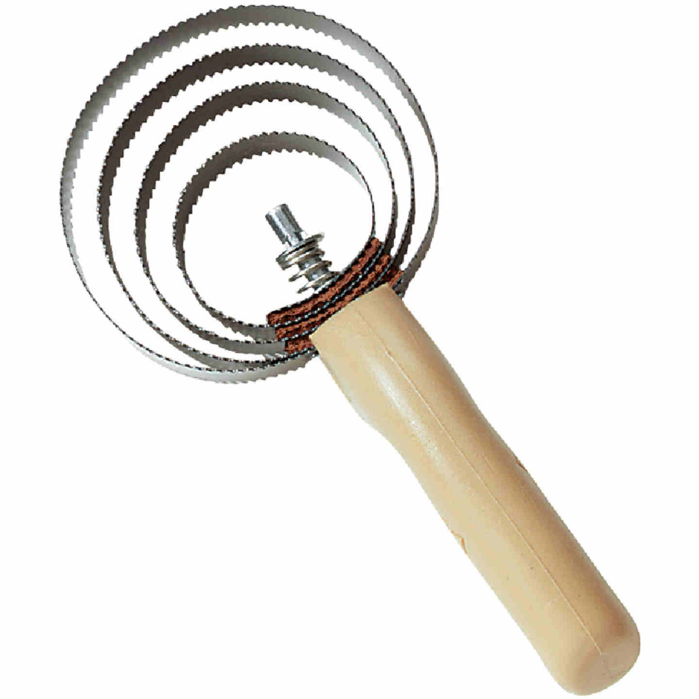 Decker Reversible Spiral Steel Curry Comb Image 1