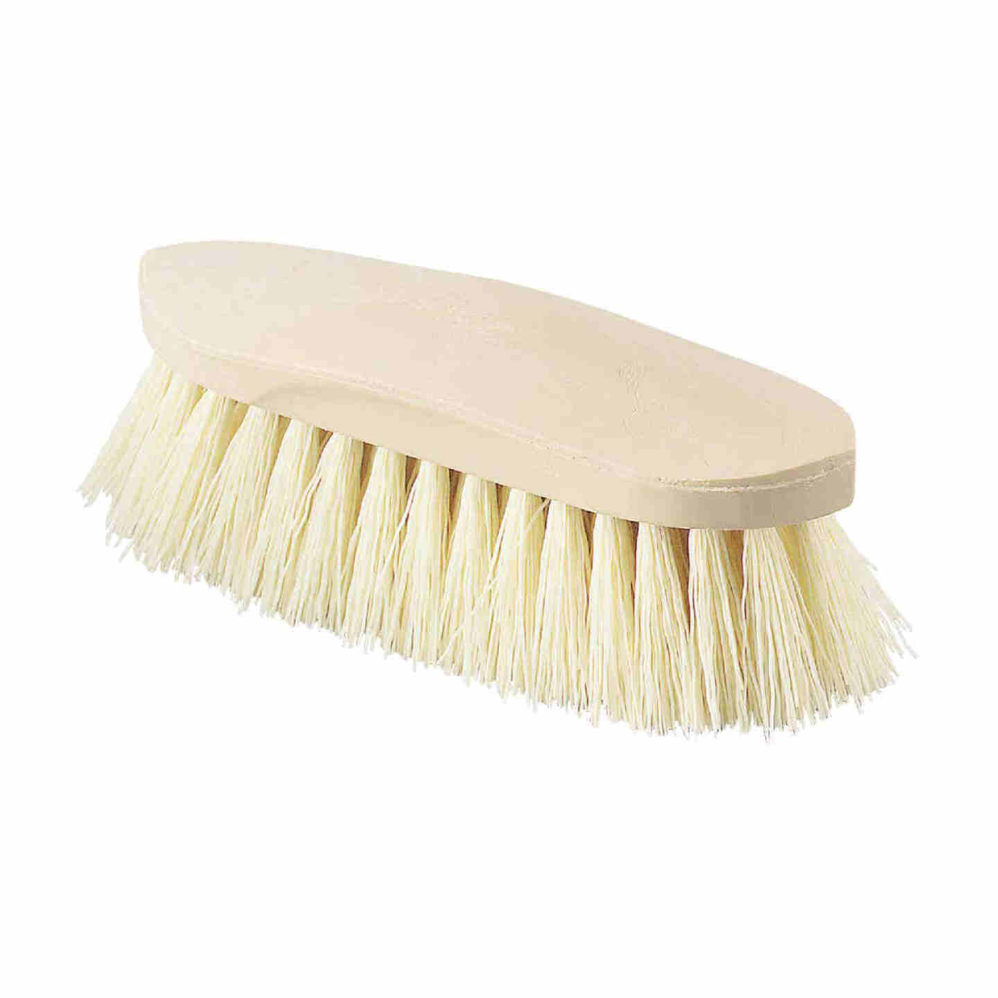 Decker Synthetic Rice Root Bristles 2 In. Trim Size Grip-Fit Stiff Grooming Brush Image 1