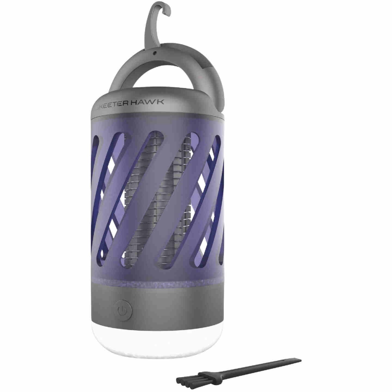 Skeeter Hawk Rechargeable Personal Mosquito Zapper & Lantern Image 1