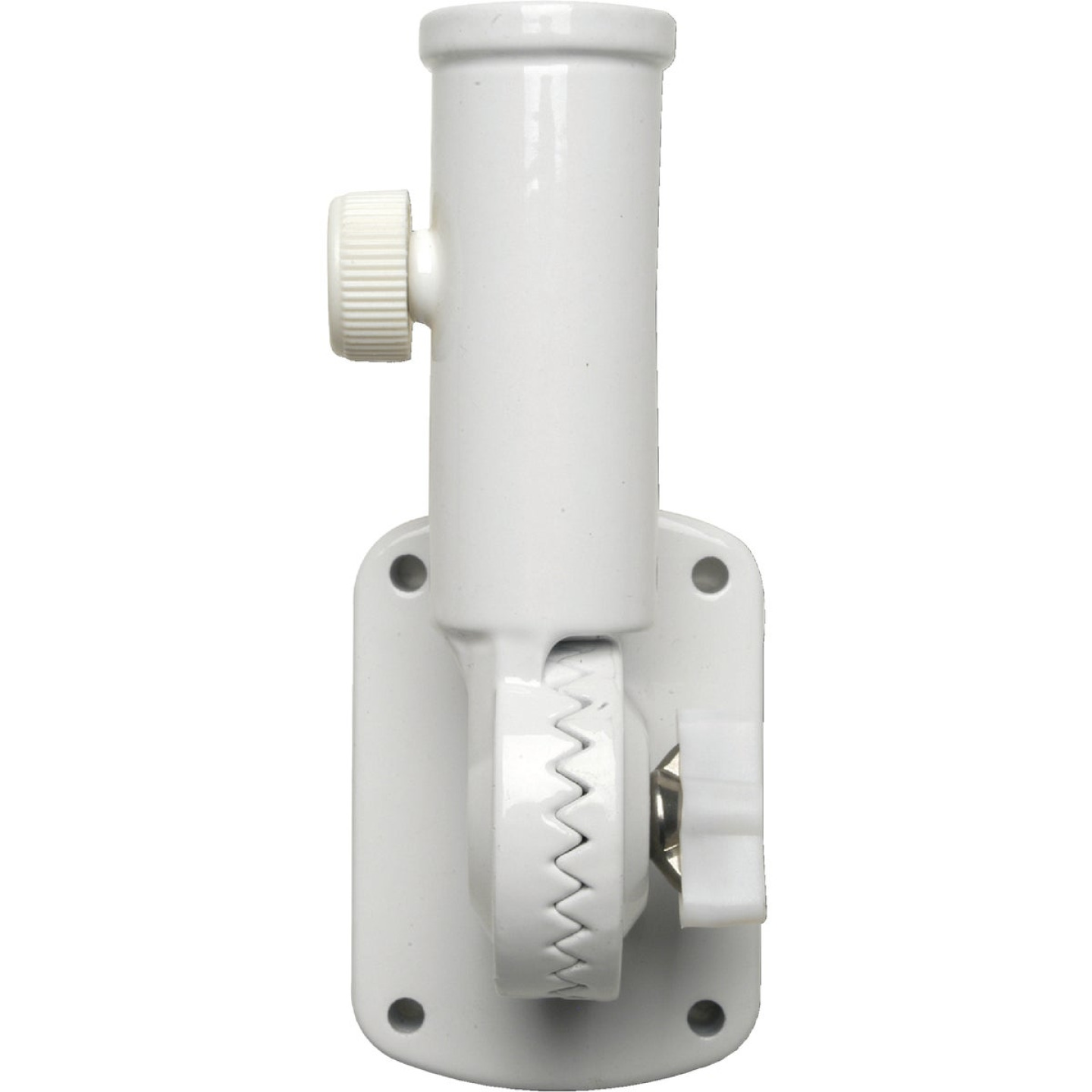 Valley Forge 13-Position 1 In. Aluminum White Flag Pole Bracket Image 1